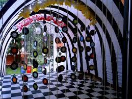 decoração de festa anos 60