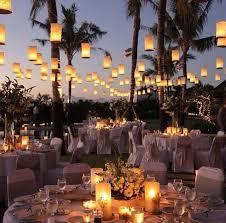decoração de festa de casamento ao ar livre