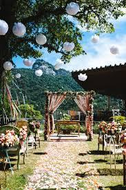 decoração de festa de casamento ao ar livree