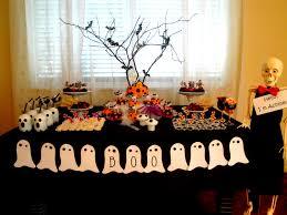 decoração de festa de halloweenn