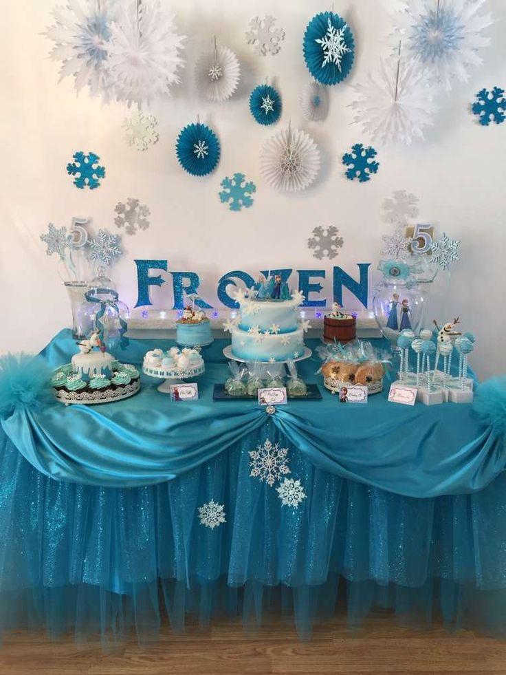 decoração de festa infantil frozen em eva