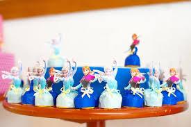 decoração de festa infantil frozen em evaa