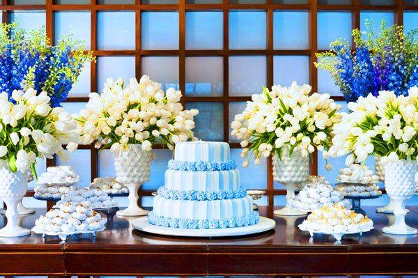 decoração de festa simples azulldecoração de festa simples azull