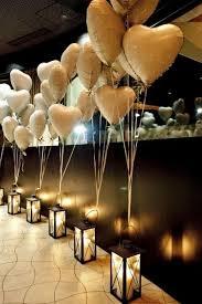 decoração de festa simples com balões