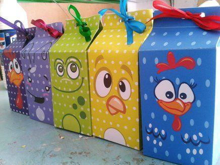 decoração de festa simples da galinha pintadinha