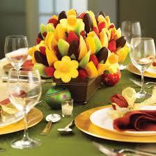 mesa de frutas para ceia de ano novo