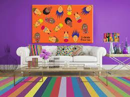 quadro artesanal para sala de estar