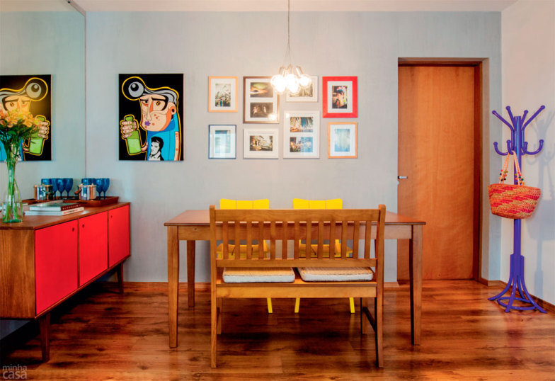 quadros coloridos para sala de jantarr