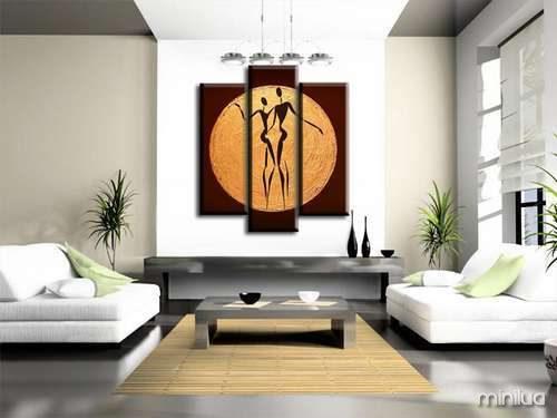 Sala De Estar Com Quadros Modernos ~ Quadros para sala de estar