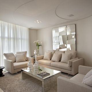 quadros para sala de estar com espelho