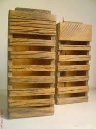 Artesanato em madeira rústica