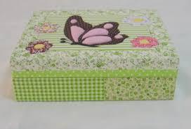 Artesanato em mdf com tecido com borboletas