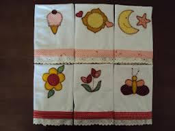 Artesanato em tecido para bebe com estampaArtesanato em tecido para bebe com estampa