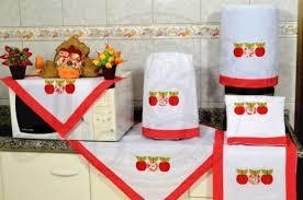 Artesanato em tecido para cozinha como capa