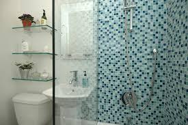 Cerâmica para banheiro azul claro
