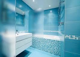 Cerâmica para banheiro azul
