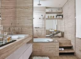 Cerâmica para banheiro bege e marrom