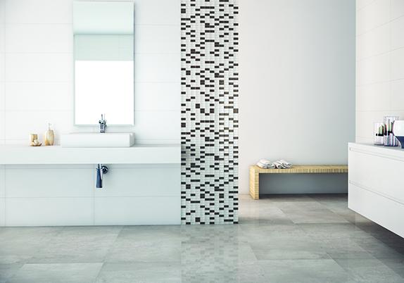 Cerâmica para banheiro  30 modelos incríveis para você [ Fotos ] -> Pia Para Banheiro De Ceramica