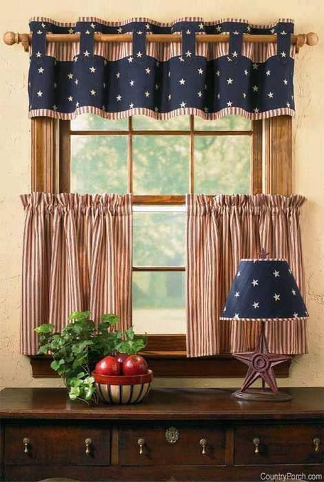 Cortinas para cozinha 40 modelos lindos para voc se for Modelos de cortinas de salon