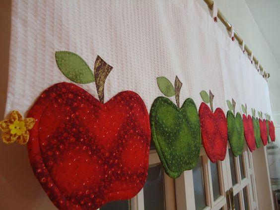 Cortinas para cozinha 30 modelos lindos para voc se for Anillas con pinza para cortinas