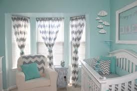 Decoração de quarto de bebê feminino azul celestial