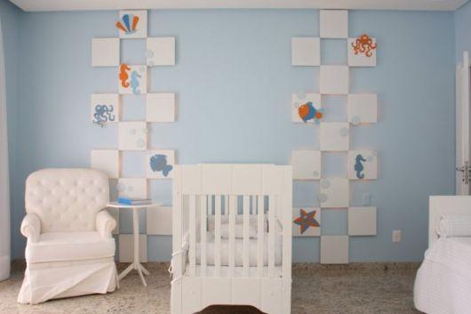 Decoração de quarto de bebe masculino com artesanato