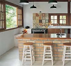 Decoração moderna de cozinha com pedrasDecoração moderna de cozinha com pedras