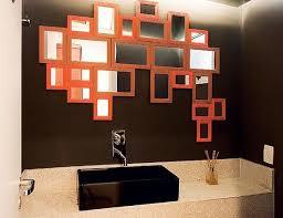 Decoração moderna e barata com espelhos