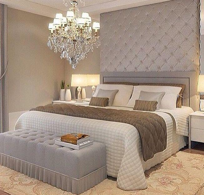 Decoração de quarto de casal 30 ideias para revolucionar  ~ Quarto Romantico Casal