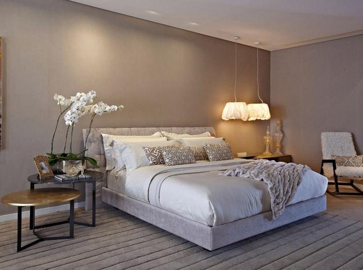 Lustre do lado da cama para quarto de casal