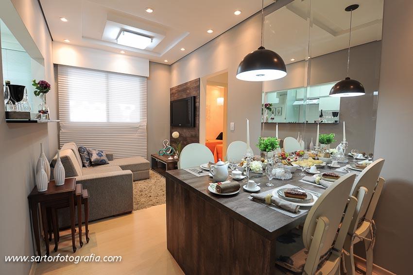Lustre para cozinha de apartamento pequeno