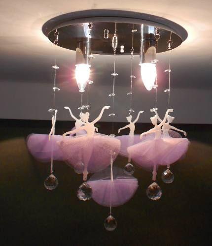 Lustre para quarto de bebe bailarinas