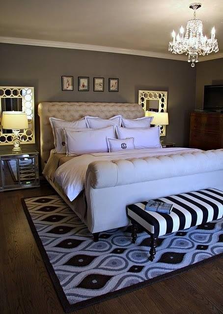 Lustre para quarto de casal clássico