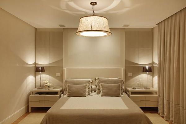 Lustre para quarto simples