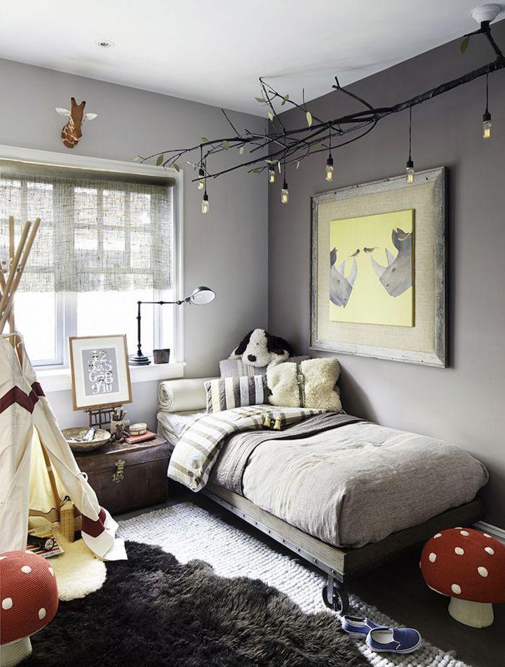 Lustres para quarto moderno