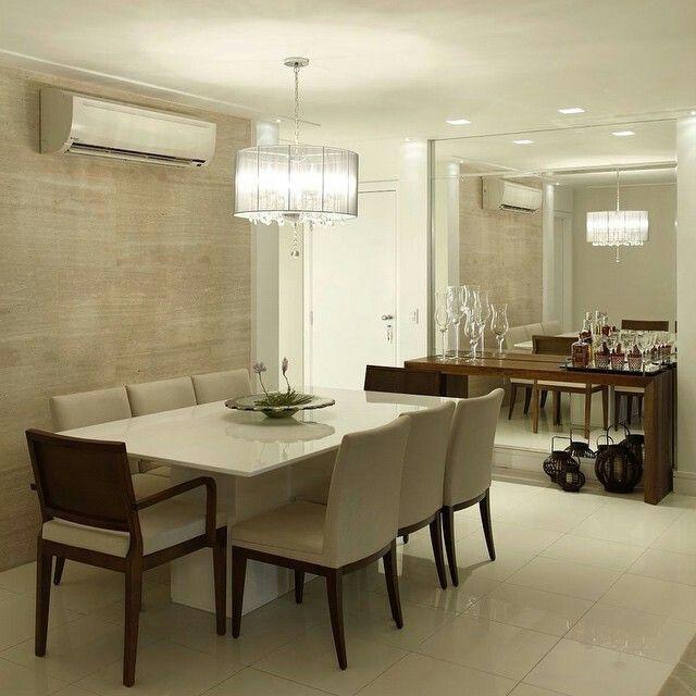 Lustres para sala de jantar e estar bem iluminado