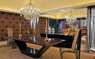 Lustres para sala de jantar luxo
