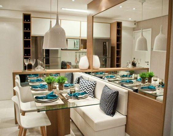Lustres para sala de jantar   30 estilos sensacionais incríveis ...