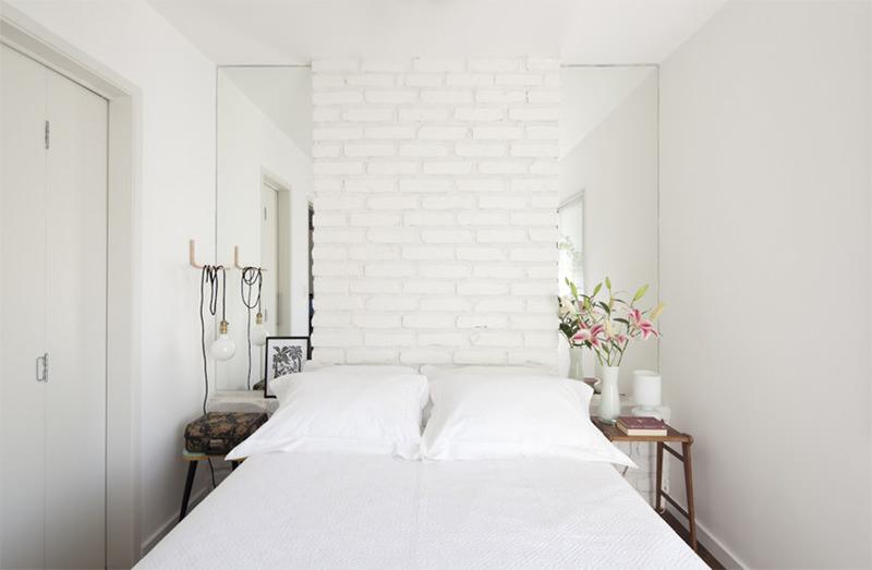 Muito branco em todas as paredes