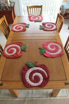 Patchwork cozinha descanço de mesa
