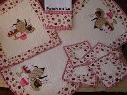 Patchwork cozinha rosa