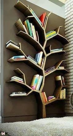Prateleira para livros arvore