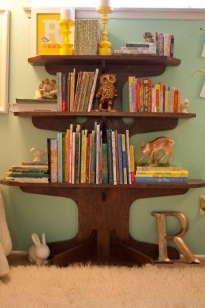 Prateleira para livros quarto em andares