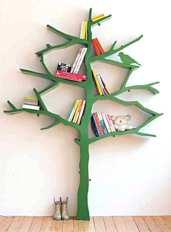 Prateleira para livros quarto infantil artesanato