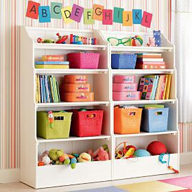 Prateleira para livros quarto infantil baixa