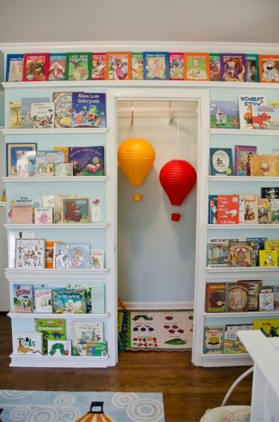Prateleira para livros quarto infantil grande