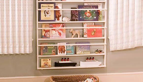 Prateleira para livros quarto infantil simples