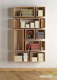 Prateleira para livros quarto moderna
