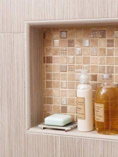 Revestimento para banheiro pequeno marrom
