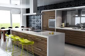 cozinhas modernas com bancada em madeira